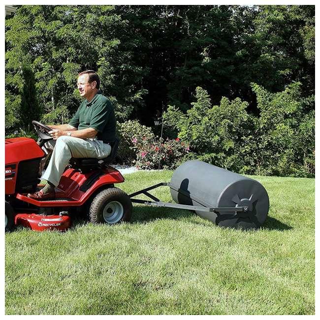 PLR1848-U-B Precision Products 18 inch by 48 Inch Poly Lawn Garden Roller, Black (Used) 4