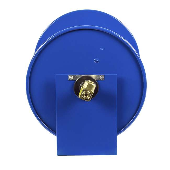 112-3-150 Coxreels 100 Series Compact Hand Crank Water and Air Hose Reel, Blue 2