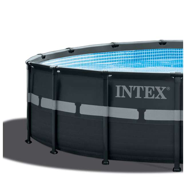 26329EH + 28002E Intex 18 Foot Ultra XTRA Pool Set and Cleaning Kit 5
