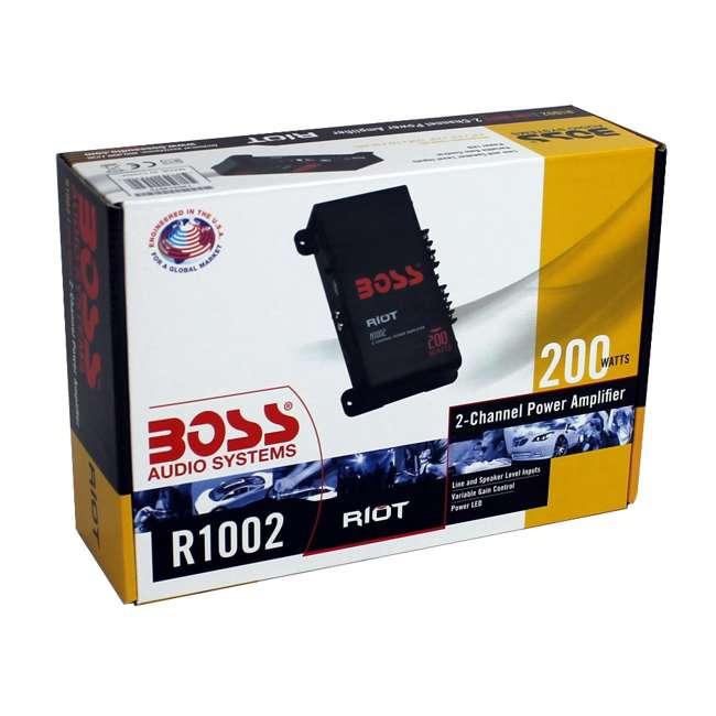 R1002 Boss Audio R1002 200W 2 Channel Car Amplifier 6