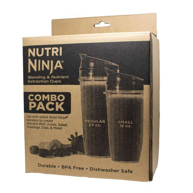 XSKCOMBONN Ninja Tritan Nutri Ninja 18 and 24 Ounce Cups 5