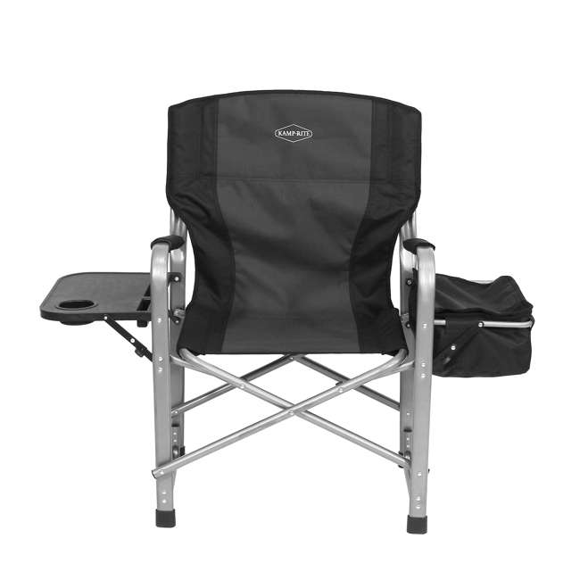 CC119 Kamp-Rite Director's Chair with Table, Cooler, and Bottle Opener 1