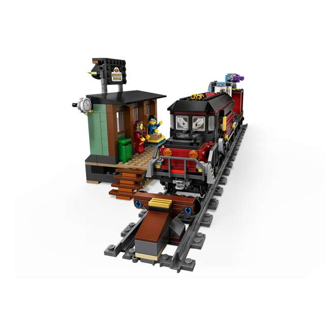 6250516 LEGO AR 70424 Ghost Train Express 689 Piece Block Building Kit w/ 5 Minifigures 3