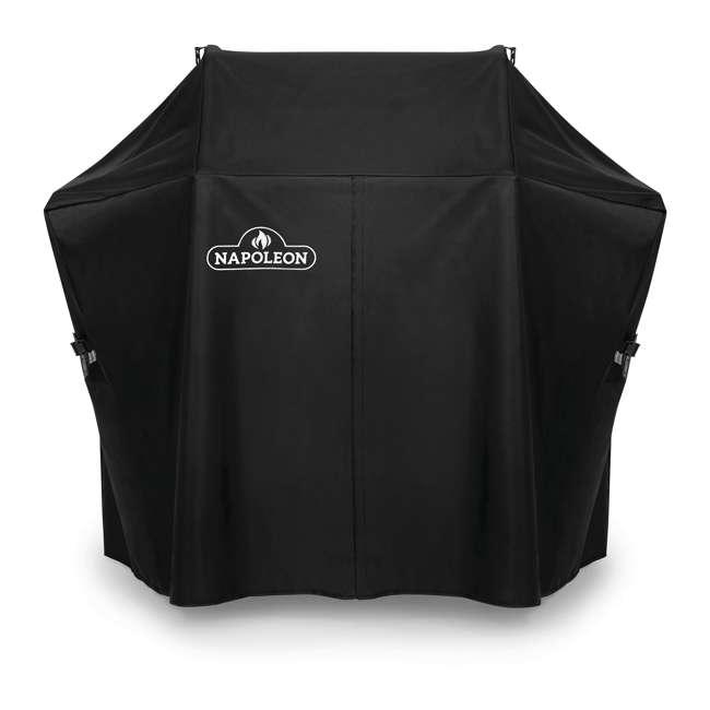 61425 Napoleon 61425 Rogue 425 Series Premium Outdoor Waterproof Grill Cover, Black
