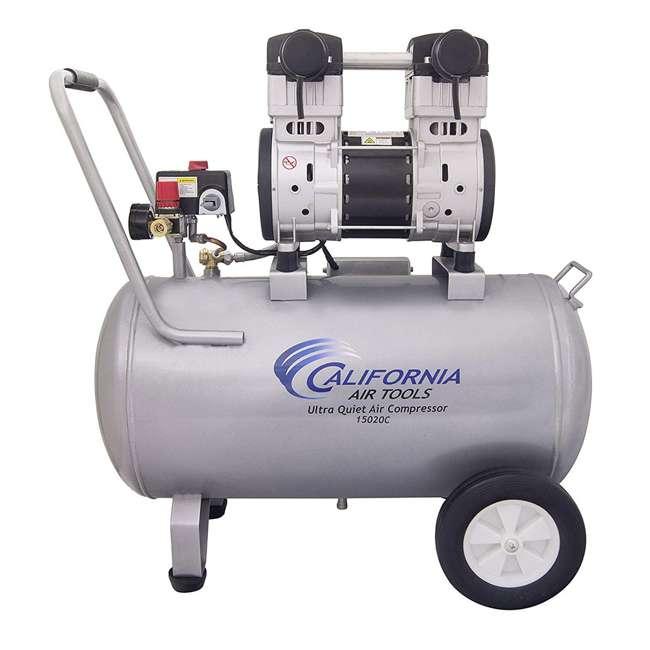 15020C Steel 2HP 15 Gal Air Compressor