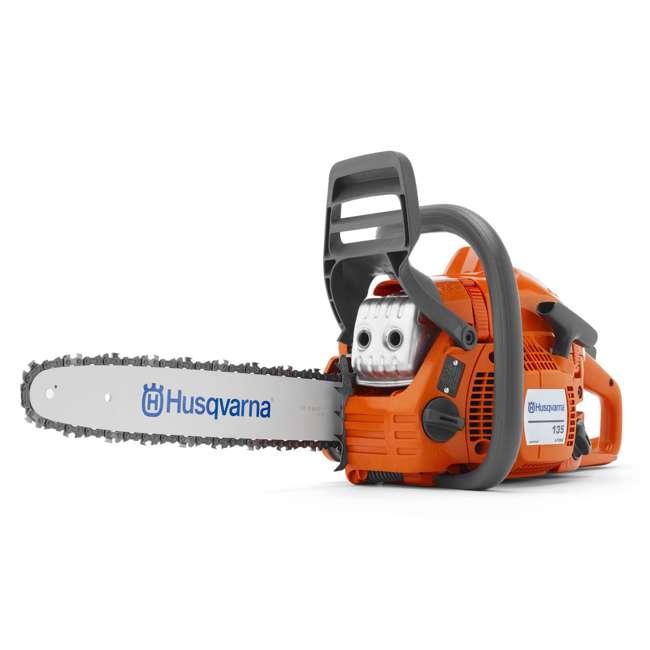 HV-CS-966761807-U-A Husqvarna 135 16 Inch Bar 40.9cc 2 HP 2 Cycle Gas Powered Chainsaw (Open Box)