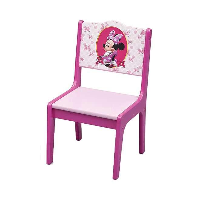 TT89500MN-1061 Delta Children Disney Minnie Mouse Deluxe Storage Table & Chairs 4