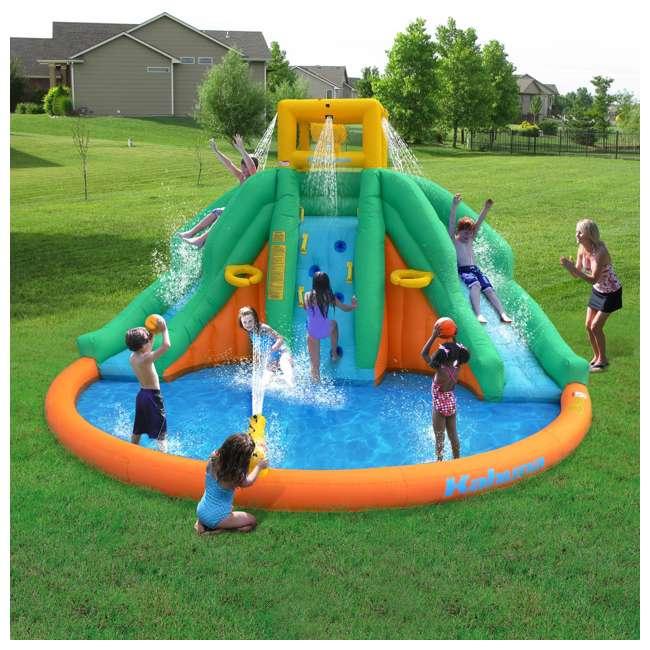90475 Kahuna Twin Peaks Inflatable Water Slide Park 5