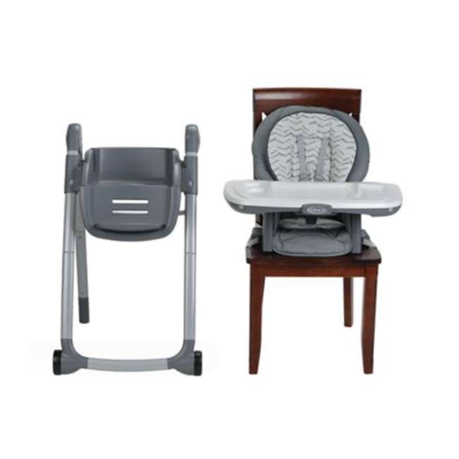 2022439 Graco 2022439 Table2Table Preimier Fold 7 in 1 Adjustable Highchair, Landry Gray 4