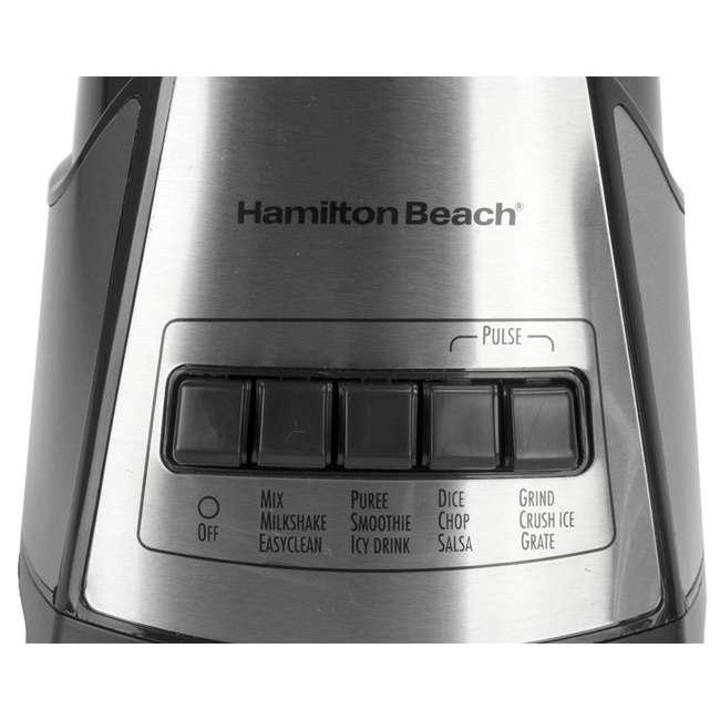 58149 + BABYFOODBLEND Hamilton Beach 2-In-1 Crusher Blender Chopper with Blender Baby Foods Cookbook 5