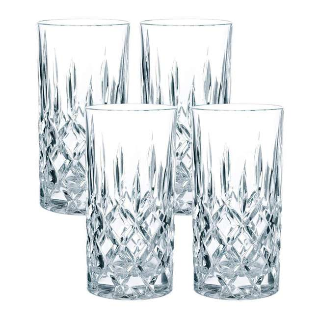 89208 Riedel 89208 Nachtmann Nobelesse 13.2 Oz. Crystal Drinkware Set with 4 Glasses
