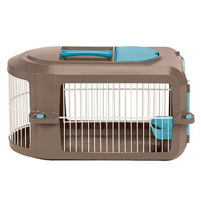 PCR2315A Suncast Deluxe Small Pet Travel Carrier with Food and Water Tray (Open Box) 1