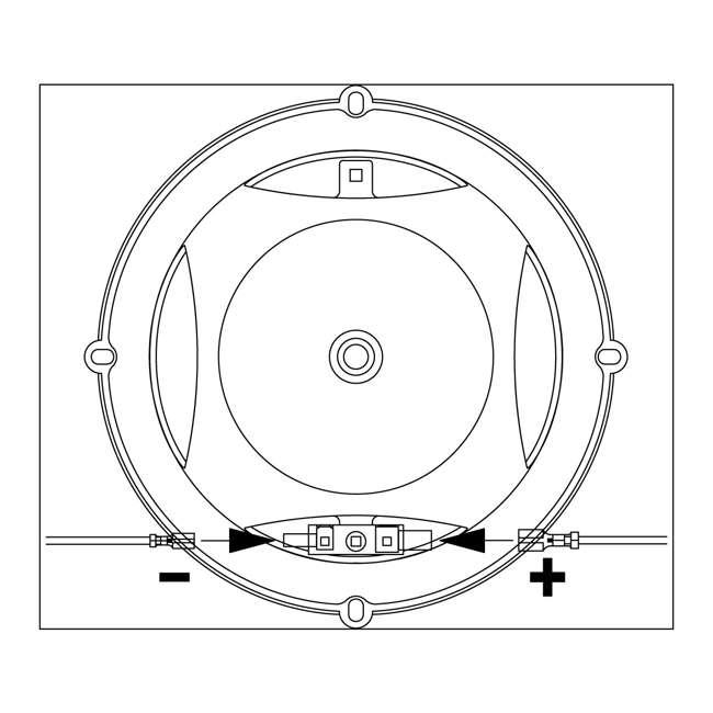 CLUB9600C JBL Harman CLUB9600C Car Audio 2-Way Component Speakers (Pair) 3