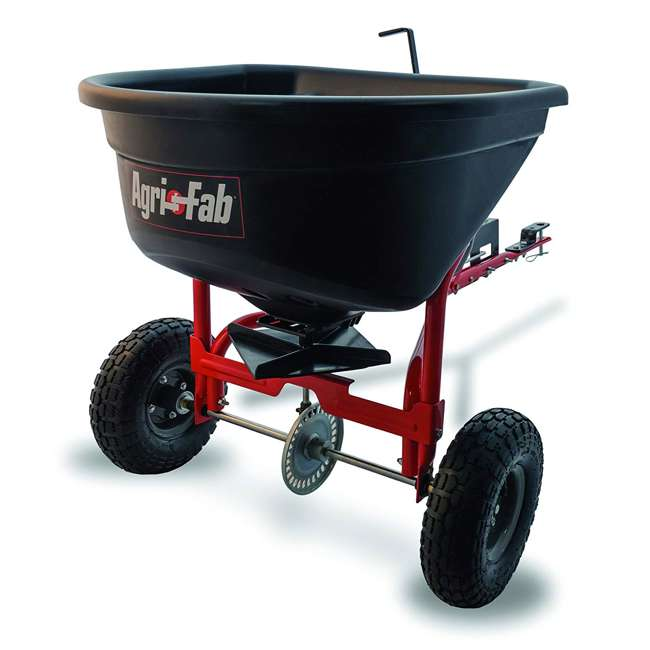 45-0527 Agri-fab 110 Pound Capacity Tow Broadcast Spreader
