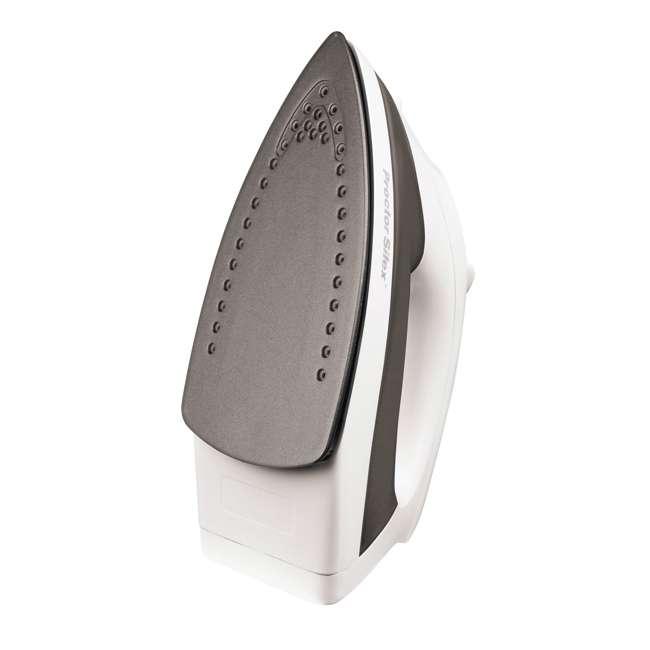 17202 Proctor Silex 17202 Nonstick Soleplate Steam Iron, Black/White 1