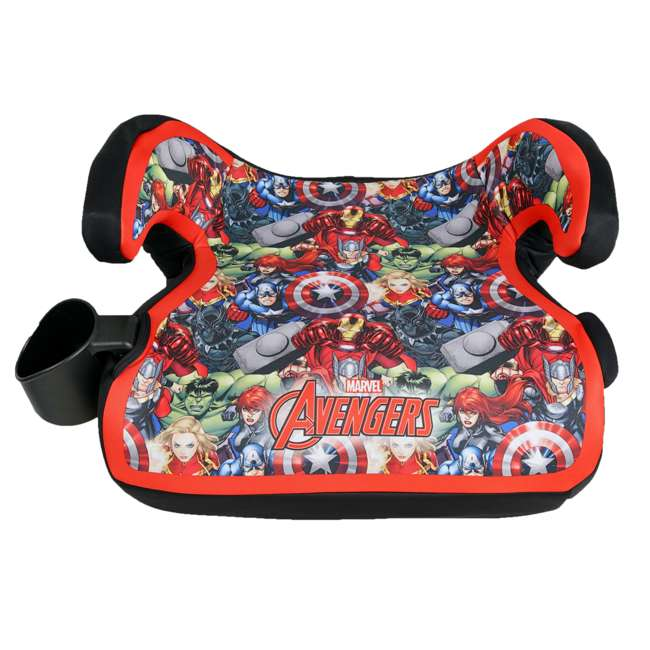KE-4801AVG Kids Embrace Marvel Avengers Backless Booster Car Seat for Kids 4 Years and Up
