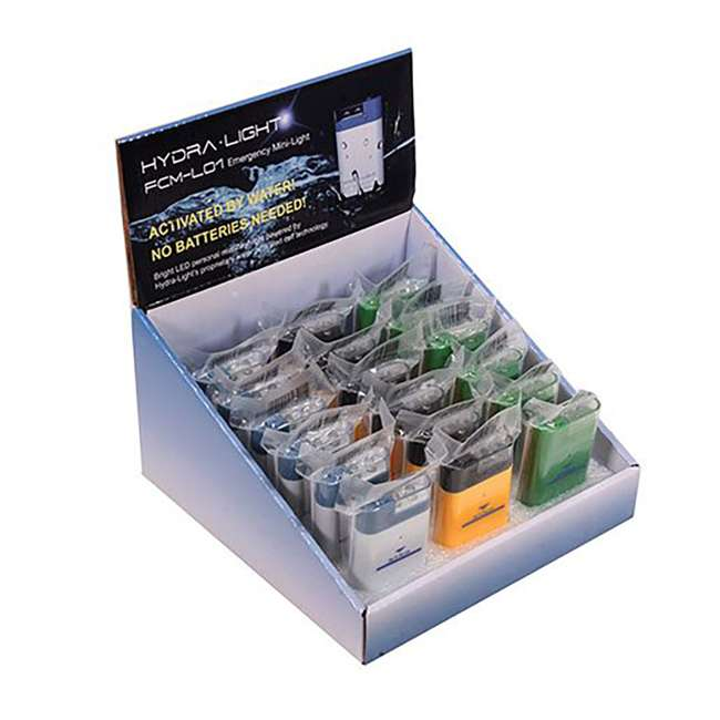 FCM1CTD (Display box) HydraCell FCM1CTD Mini Emergency LED Light Set with 18 Lights and Display Box
