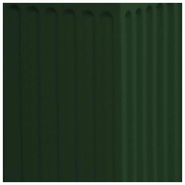 SV-COL-GRN Good Ideas Savannah Patio Outdoor Column 30 Gallon Storage and Waste Bin, Green 2
