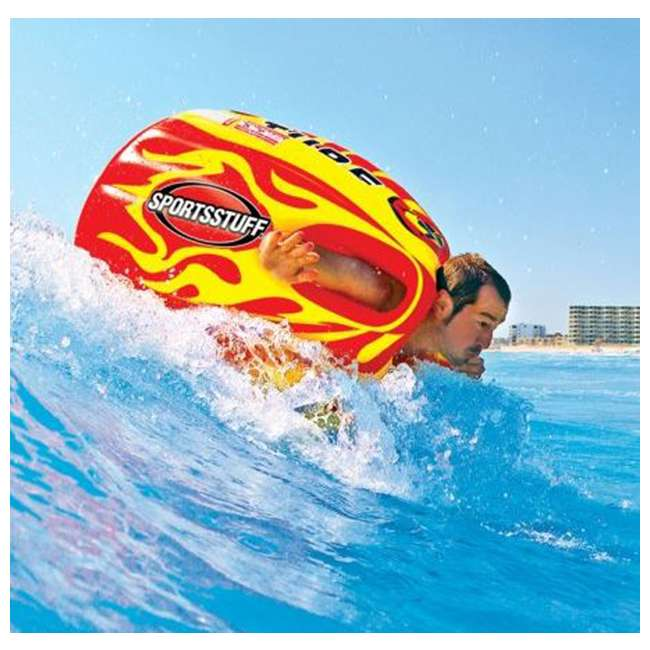 3 x 53-1807 Airhead SPORTSSTUFF Sumo & Splash Guard 1 Rider Towable (3 Pack) 4