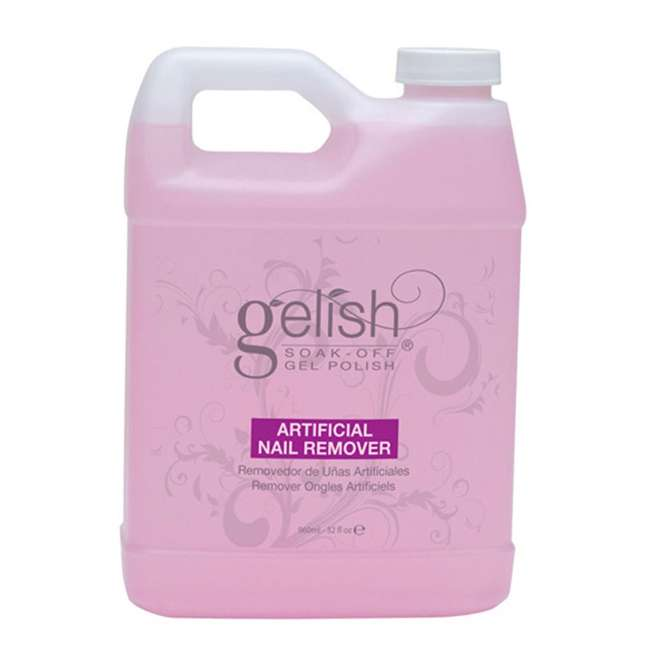 01229-SOAK32 Gelish Soak Off Gel Nail Polish Artificial Nail Remover Bottle Refill, 32 Ounces