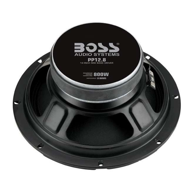 PP128 Boss PP12.8 12-Inch 1600W Mid Bass Speakers (Pair) 2
