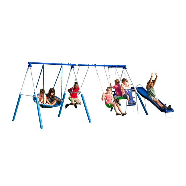XDP-76208 XDP Recreation All-Star Outdoor Playground Kids' Swing Set 1