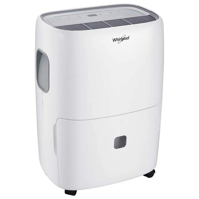 WHAD703AW-RB Whirlpool High-Efficiency 70-Pint Portable Dehumidifier (Certified Refurbished)