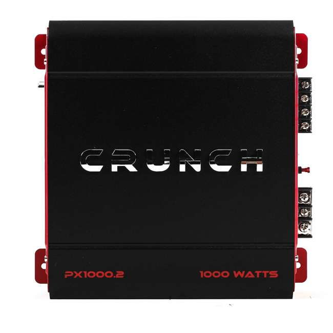 PX-1000.2 Crunch 2-Channel, 1000 W Amplifier | PX-1000.2 (2 Pack) 1