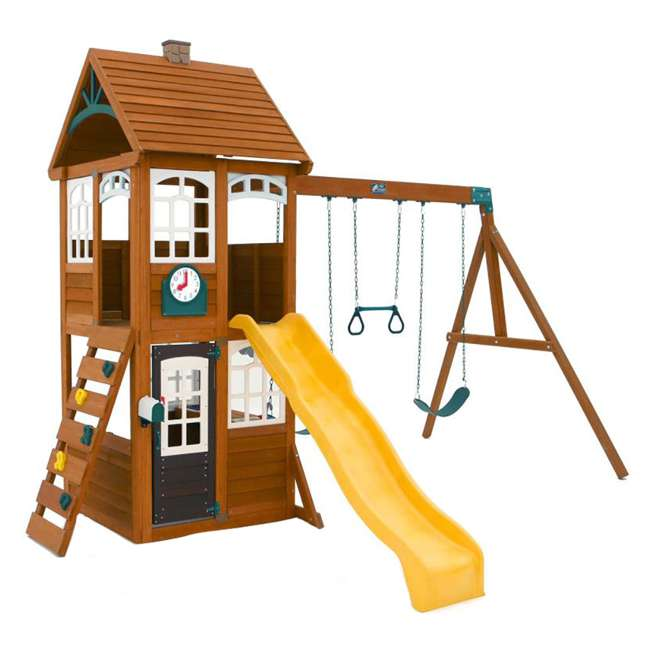 F24950 KidKraft F24953 McKinley Kids Wooden Outdoor Playset