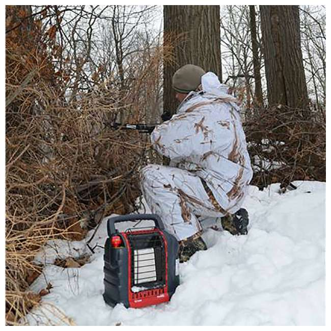 MH-F232050 Mr. Heater Portable Buddy Outdoor Camping Propane Gas Heater Canada Version, Red 9