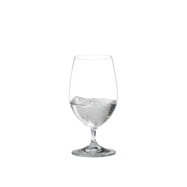 6416/21 Riedel Vinum Crystal Dishwasher Safe Gourmet Water Glass, 13.05 Ounce (2 pack) 1
