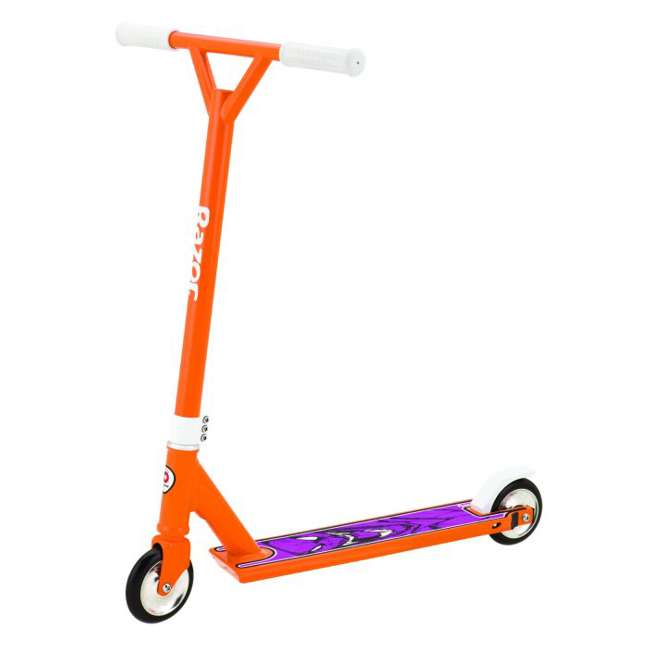 13018180 Razor Pro El Dorado Deluxe Kids Kick Scooter, Orange (2 Pack) 1
