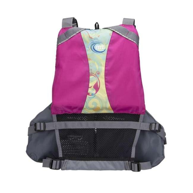MTI-807J-0PS45 MTI Life Jackets Moxie Adult M/L Life Vest, Berry 2