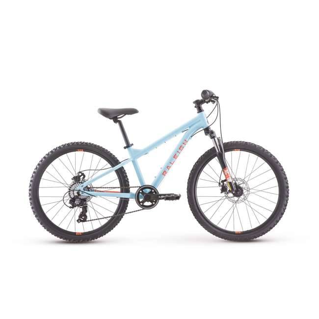 "14-0510060 Raleigh Tokul 24"" Childrens Kids Youth Mountain Bike Bicycle, for Ages 9 to 12"
