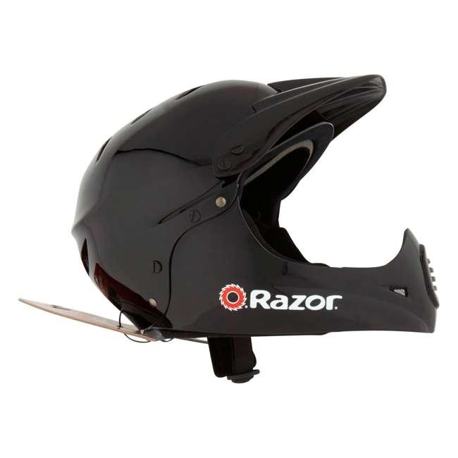 15128008 + 97775 Razor MX400 Dirt Rocket Electric Motorcycle, White + Helmet 10