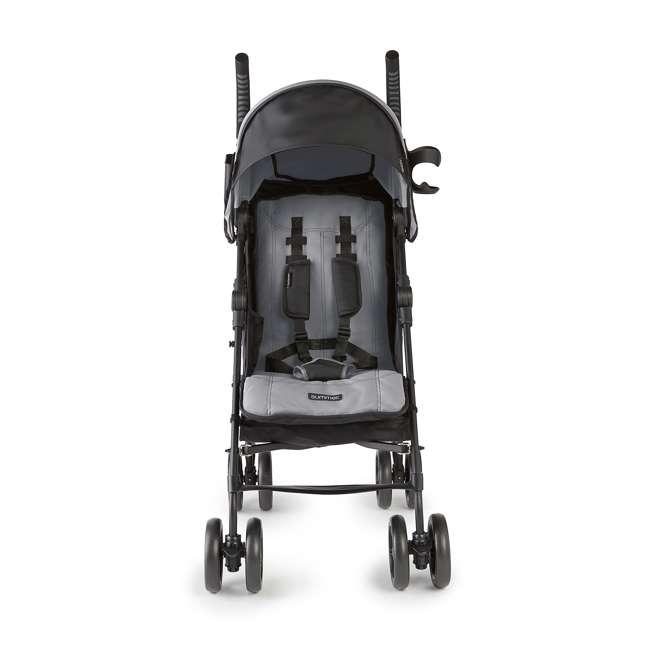 32753 Summer Infant 3DlitePlus Convenience One-Hand Adjustable Stroller Matte Gray 2