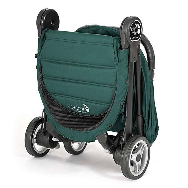 1980173 Baby Jogger City Tour Lightweight Compact Travel Stroller with Carry Bag, Green 3