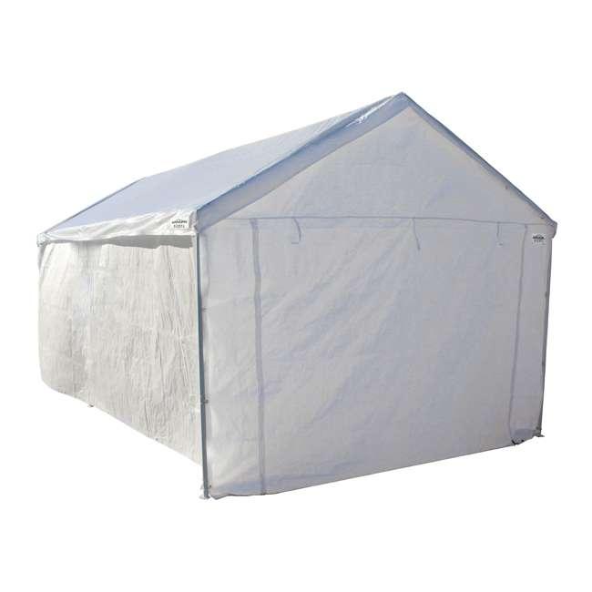CVAN22006200010 + CVAN12000211010 Caravan Canopy Domain 10 x 20-Foot Canopy with Sidewalls