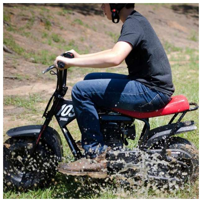 MM-B105 Monster Moto 105cc Gas-Powered Off-Road Mini Dirt Bike  4