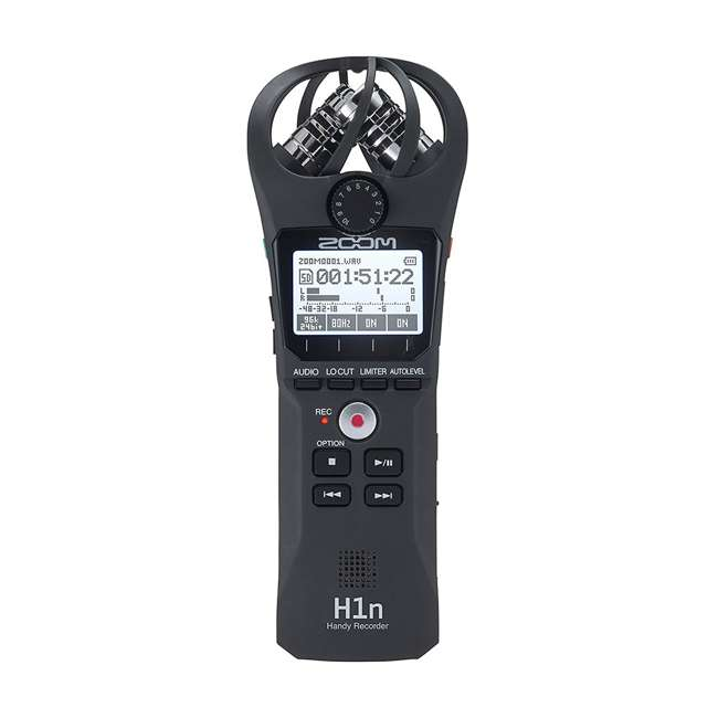 ZH1N-OB Zoom ZH1N Handy Portable Wireless Digital Audio Recorder with Built in Microphone 2