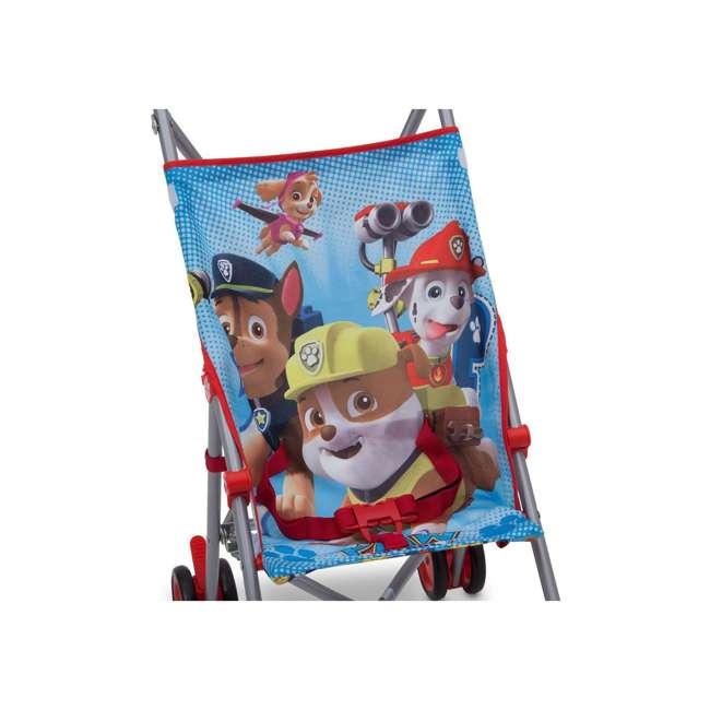 11021-637 Nickelodeon Paw Patrol Lightweight Travel Umbrella 3 Point Harness Baby Stroller 1