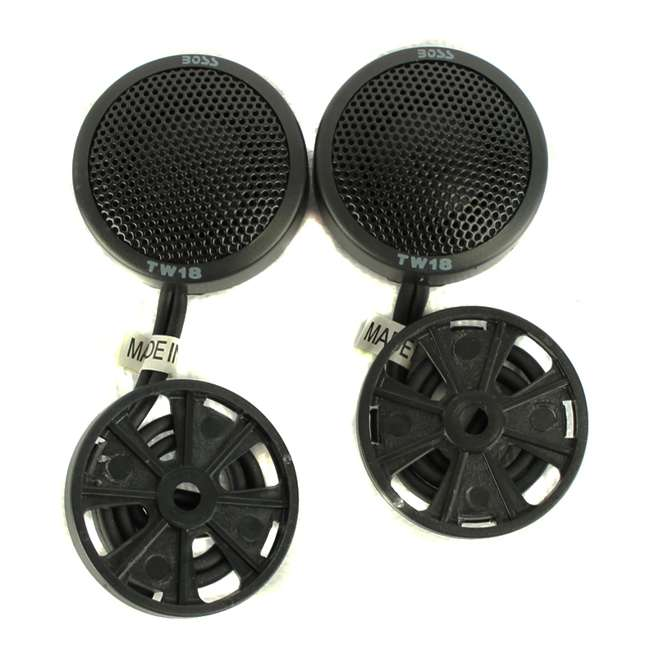 TW18-BOSS Boss TW18 .5-Inch 200W Micro Dome Tweeters Swivel/Surf/Angle Mount (Pair) 2