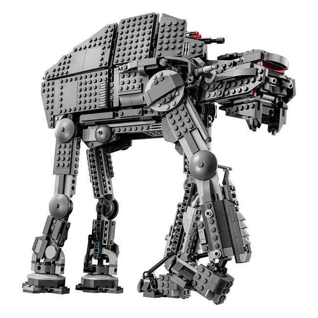 6224296 LEGO Star Wars First Order Heavy Assault Walker Building Kit with 5 Minifigures 3