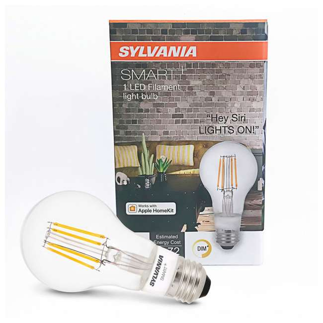 SYL-74979-U-A Sylvania Smart+ Bluetooth Filament A19 LED Light Bulb (Open Box) (2 Pack) 3