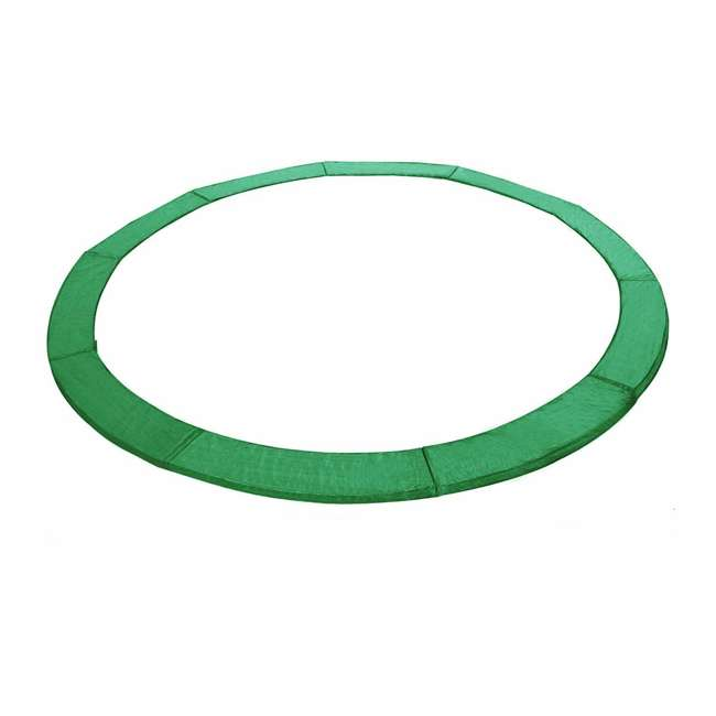 6180-CP14G Exacme 14-Foot Round Trampoline Frame Spring Cover Safety Pad Replacement, Green