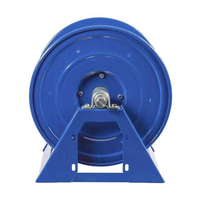 1125-4-200 Coxreels Steel Hand Crank Hose Reel 200 Foot Hose Capacity, Blue 5