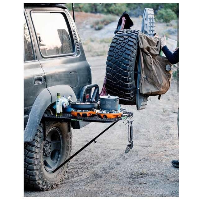 TGMESH Tailgater Tire Table Original Steel Tire-Mounted Folding Table 4