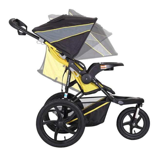 JG95A16A Baby Trend XCEL Jogger Stroller, Lemon Zest  2