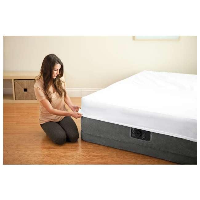 4 x 64411E-U-A Intex Comfort Plush Elevated Dura-Beam Airbed w/ Pump - Twin (Open Box) (4 Pack) 5