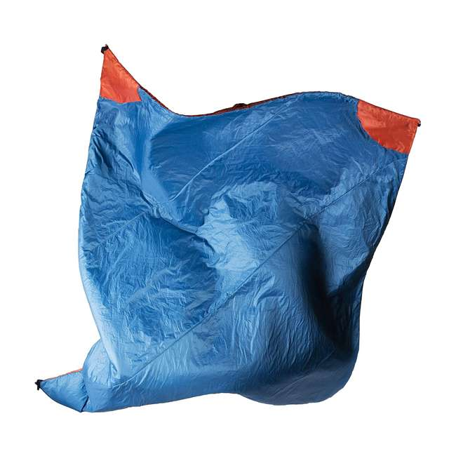 "13VBOR01C Klymit Versa 58 x 80"" Lightweight Polyester Camping Blanket & Comforter, Red 2"